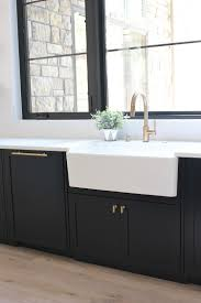 modern kitchen black cabinets our new modern kitchen the big reveal the house of