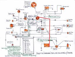 hand drawn wiring diagram for xlch harley davidson forums