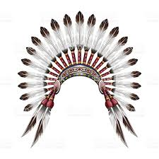 coloring pages of indian feathers native american clipart indian headdress 3736163