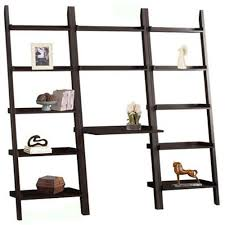 Leaning Ladder Desk by Furnishing Your Home Office Harlan Style Leaning Ladder Bookcase