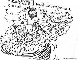 coloring pages prophet elijah printables printable lesson elijah