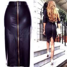 Black Leather Scrapbook Shirt Leather Skirt Black Leather Skirt Fetching Faux Leather