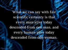 what are y chromosomal adam and mitochondrial eve