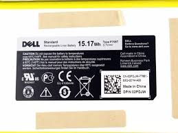 genuine dell venue 8 li ion tablet battery 3 7v 15 17wh p706t