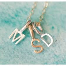 Initials Necklace Tiny Initials Necklace By Lisa Leonard Designs