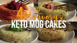 4 savory keto mug cake recipes youtube