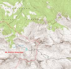 Colorado Trail Map by Blue Lakes Trail Colorado U0027s Wild Areas