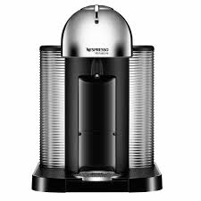 nespresso coffee nespresso vertuoline coffee and espresso maker chrome j l hufford