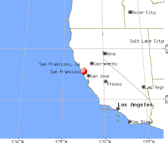 san francisco map california san francisco california ca profile population maps real