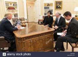u s president elect donald trump meets with washington mayor