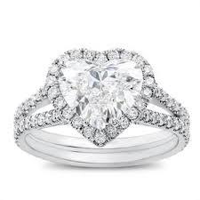 heart rings images Heart halo engagement ring setting r3068 jpg