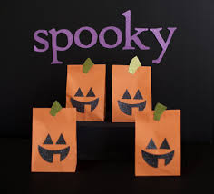 59 paper bag halloween door decor pics photos cool and funny