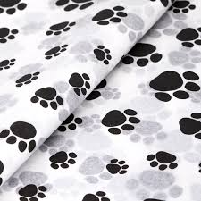 paw print tissue paper paw print tissue paper from stock at midpac part of our patterned