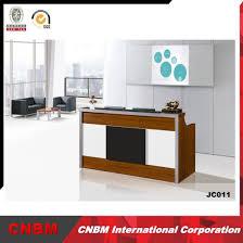 Wholesale Reception Desk China Wholesale Mfc Front Counter Table Reception Desk China