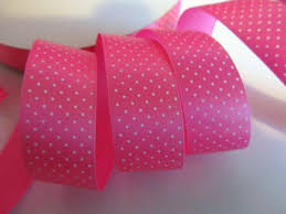 pink polka dot ribbon embellishment world ribbon satin ribbon polka dot 5