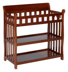 Wood Changing Table Eclipse Changing Table Baby Safety Zone Powered By Jpma