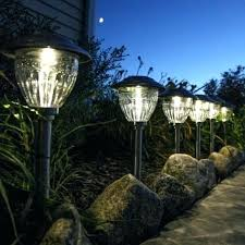 portfolio solar path lights low voltage pathway landscape lighting low voltage path lighting