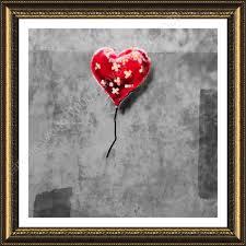 home decor quotes splendid design decor framed poster balloon heart framed wall