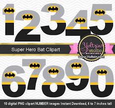 batman clipart numbers superheroes superhero super boy logo