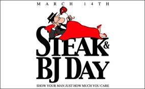 Steak And Bj Meme - what s the deal with quot steak and blow job day quot sheknows