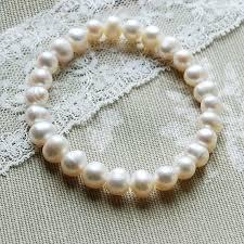 pearl bracelet elastic images Elasticated freshwater pearl bracelet by highland angel jpg