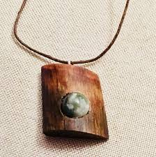 wood jewelry necklace images Pine knot pendant handmade jewelry wood jewelry necklace lover jpg