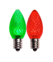 red c7 led christmas lights c7 color changing red green led christmas light led christmas