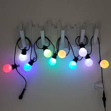colour changing led festoon lights multi colour christmas fairy