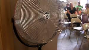 Floor Fan by Hampton Bay High Velocity Floor Fan Youtube
