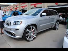rose gold jeep cherokee veltboy314 srt jeep grand cherokee on 26 forgiato wheels youtube
