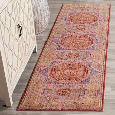 5 X 8 Rug Pad Blue U0026 Red Antique Styled Area Rug Transitional Rugs Safavieh Com