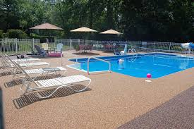 outdoor pool deck options with pool deck resurfacing options and