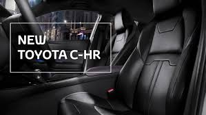 toyota leather seats toyota c hr leather seats