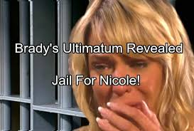 nichole on days of our lives with short haircut days of our lives spoilers brady s ultimatum revealed threatens