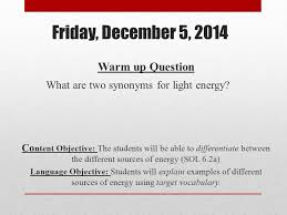 Light Synonyms December Ppt Download