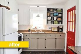kitchen before u0026 after a super budget kitchen makeover for 500