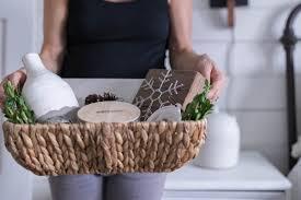 christmas gift basket idea farmhouse style farmhouse on boone