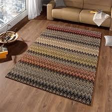 teppiche design design velours teppich mission bunt braun 102277 teppiche design