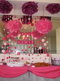 baby shower decor ideas new girl baby shower decorations ideas cool home design beautiful