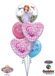 1st birthday balloon delivery sofia the 1st princess balloons sofia the 1st princess balloons
