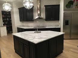 black kitchens granite countertops seattle