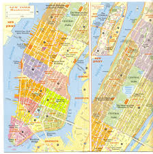 New York City Map Of Manhattan by Www Mappi Net Maps Of Cities New York City