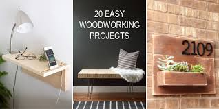 Easy Woodworking Plans For Beginners by 20 Easy Woodworking Projects For Beginners