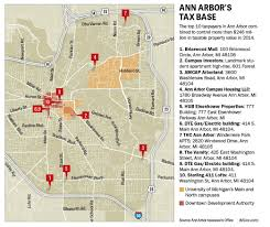Map Of Ann Arbor Michigan A Different Kind Of Suburb What Ann Arbor U0027s Top Taxpayers Tell Us