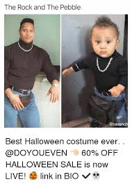 Best Meme Costumes - the rock and the pebble best halloween costume ever 60 off