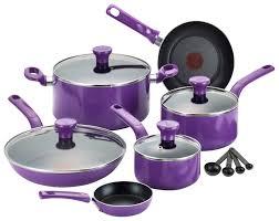 purple pots and pans set 398