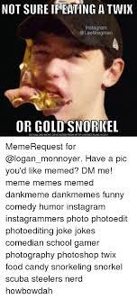 Meme Generator For Instagram - not sure ireating a twix instagram bregman or gold snorkel download