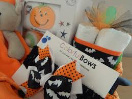 Halloween Themed Baby Showers by My First Spooky Halloween Baby Shower Gift Basket U2013 Colorfulbows