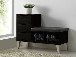 Cushioned Storage Bench Furniture Wooden Bench With Storage Cushioned Storage Bench