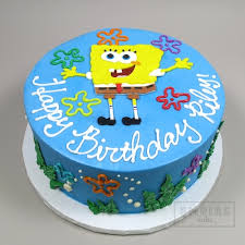 spongebob cake ideas spongebob squarepants flat fondant empire cake